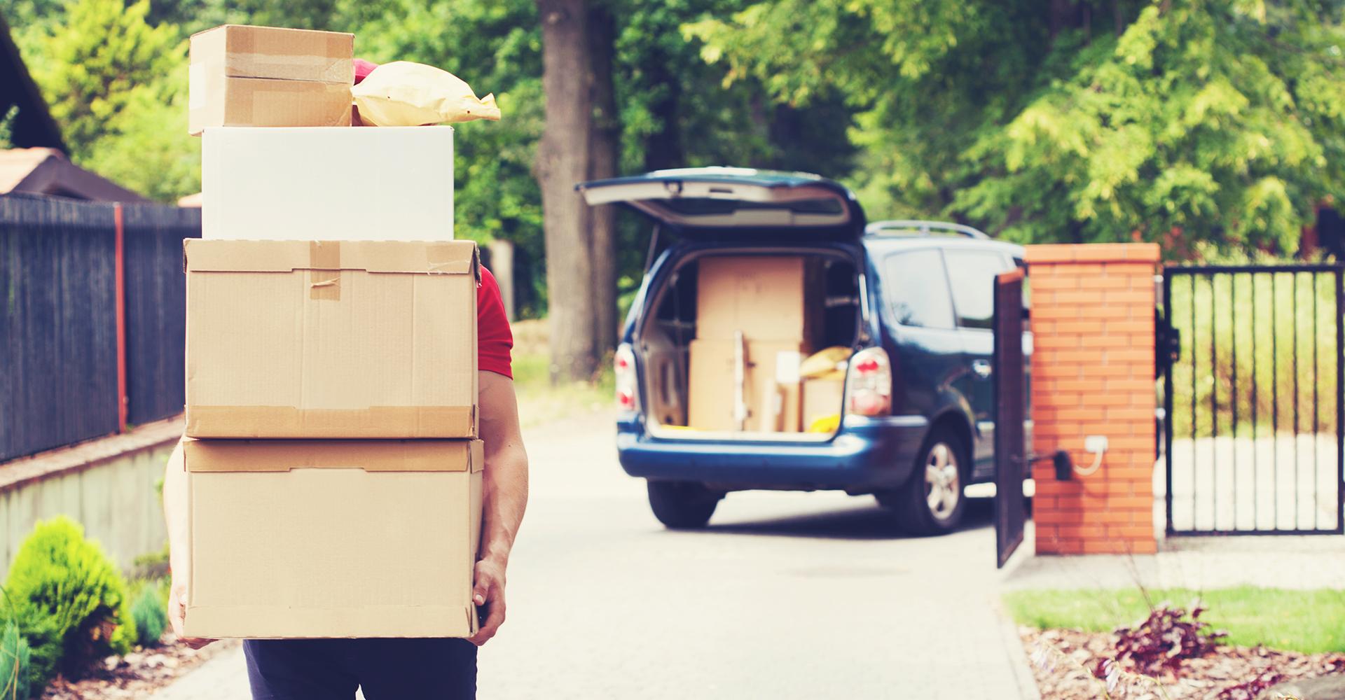 Luado hjelper deg med pakking og flytting