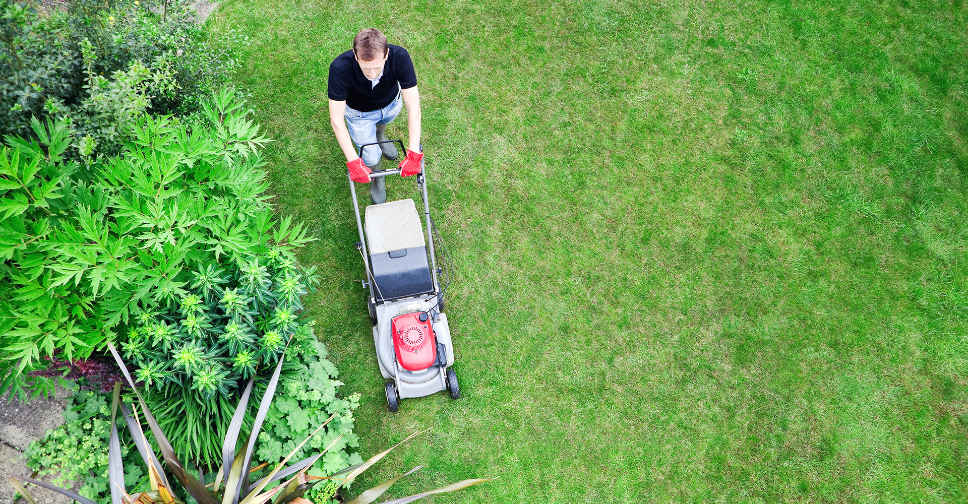 Luado hjelper deg med hage og utearbeid