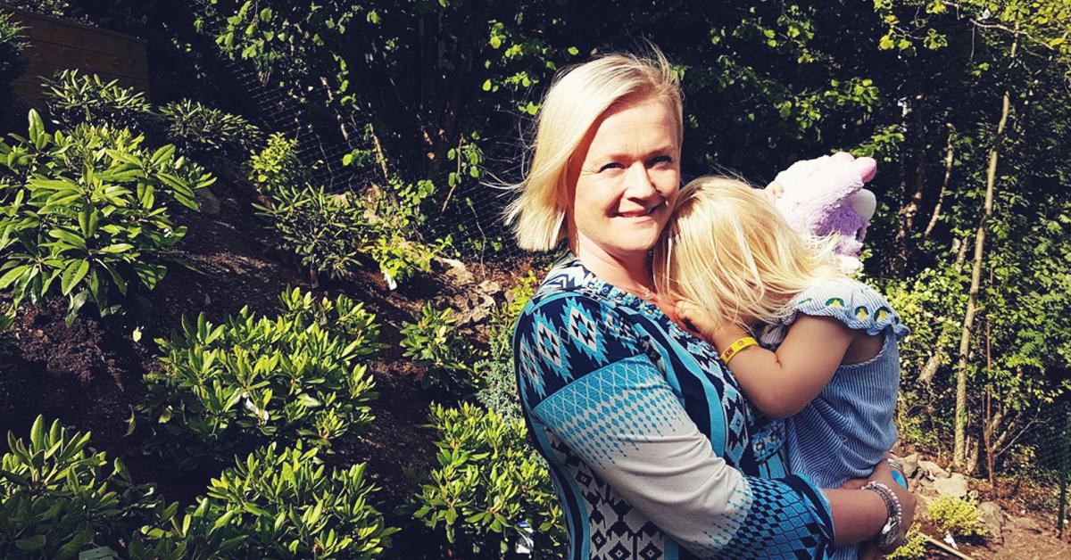 Siri Ribsskog fikk hjelp med hagen